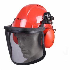casco visiera e cuffie
