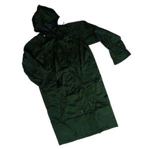 cappotto nylon verde