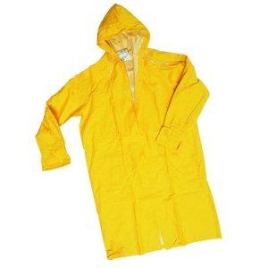 cappotto pvc giallo
